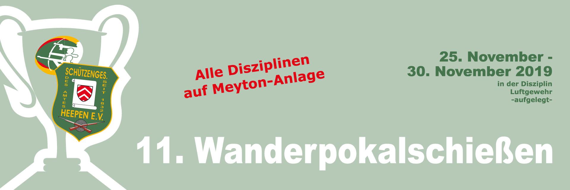 Banner Wanderpokalschiessen
